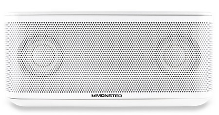 Monster ClarityHD Micro Portable Bluetooth Loudspeaker white