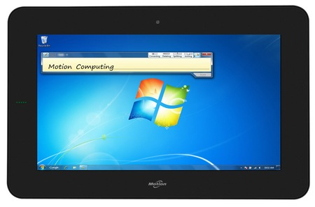 Motion Computing CL910 Tablet PC for Business front