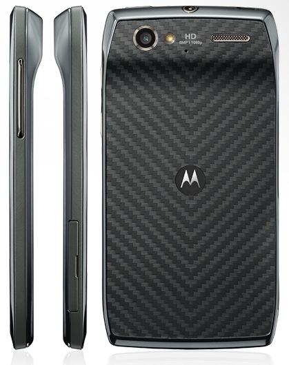 Motorola RAZR V Android Smartphone back side