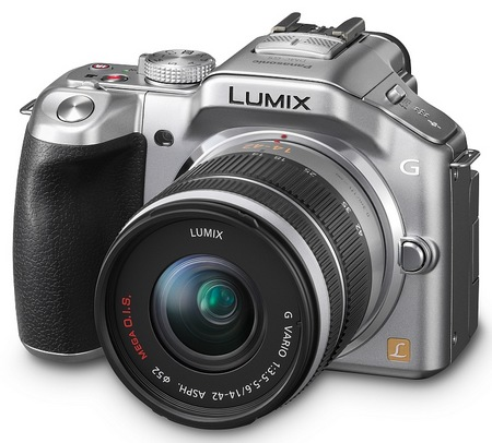 Panasonic LUMIX DMC-G5 Micro43 Mirrorless Camera silver