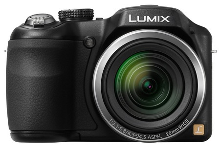 Panasonic Lumix DMC-LZ20 21x Zoom Camera front