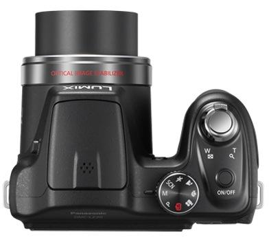 Panasonic Lumix DMC-LZ20 21x Zoom Camera top