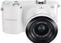 Samsung NX1000 SMART Mirrorless Camera white