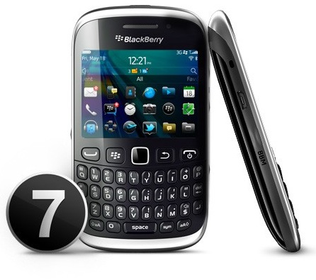 Verizon BlackBerry Curve 9310 Smartphone side