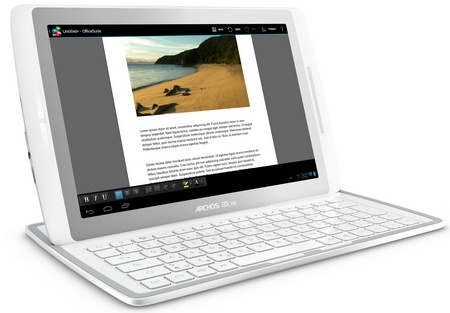 Archos 101 XS Android Tablet with Magnetic Coverboard keyboard