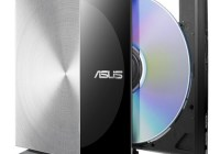 Asus SDRW-08D3S-U Stylish External DVD Burner for Smart TVs and Tablets stand