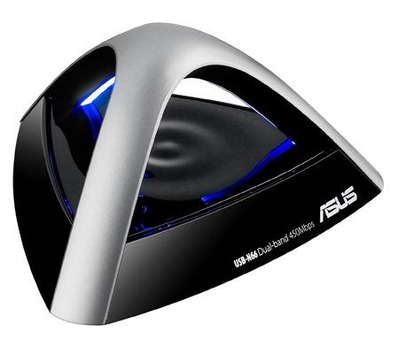 Asus USB-N66 Dual-Band N900 USB WiFi Adapter angle 1