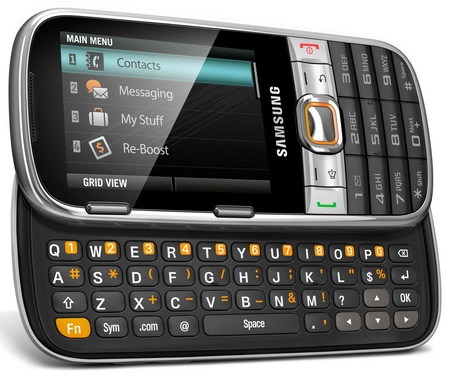 Boost Mobile Samsung Array QWERTY Phone