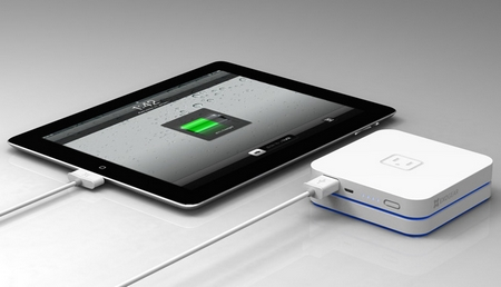 Exogear Exovolt Plus Stackable Battery Pack ipad