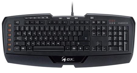 Genius Imperator MMORPG RTS Gaming Keyboard front