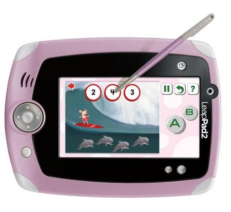 LeapFrog LeapPad2 Learning Tablet for Kids pink landscape