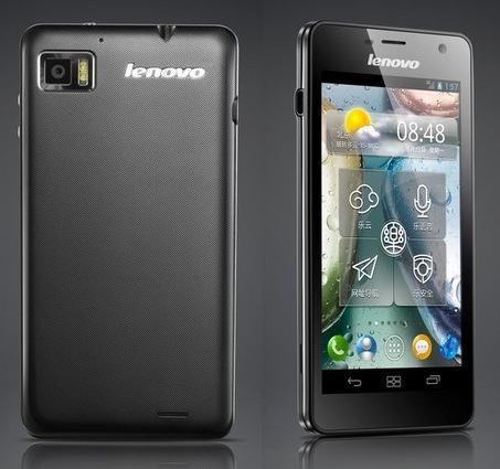 Lenovo LePhone K860 Quad-core Smartphone with 5-inch Screen back