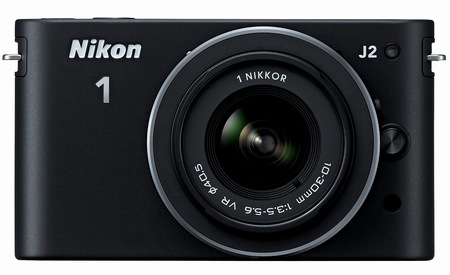 Nikon 1 J2 Mirrorless Camera black