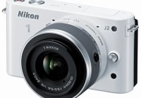 Nikon 1 J2 Mirrorless Camera white