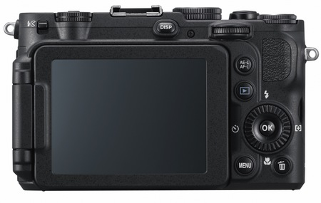 Nikon CoolPix P7700 Prosumer Camera back