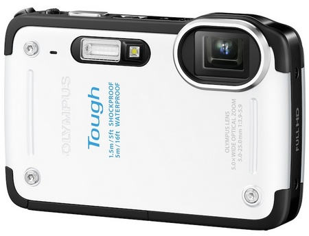Olympus STYLUS TG-625 Tough Rugged Camera white