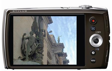Olympus STYLUS VH-515 compact digital camera back