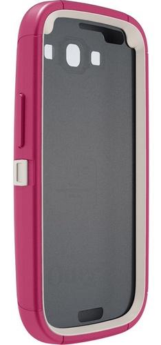 OtterBox Defender Series Case for Samsung Galaxy S III blush