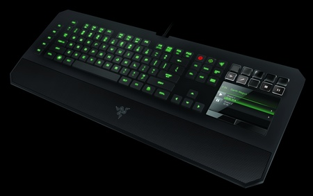 Razer DeathStalker Ultimate Gaming Keyboard with with Touchscreen Switchblade UI 1