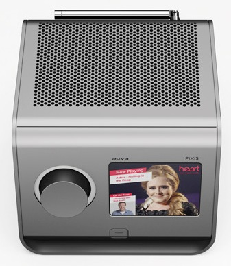 Revo PiXiS Digital Radio with Touchscreen silver