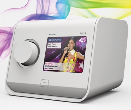 Revo PiXiS Digital Radio with Touchscreen white