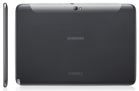 Samsung Galaxy Note 10.1 Tablet black back