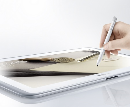 Samsung Galaxy Note 10.1 Tablet with S-pen
