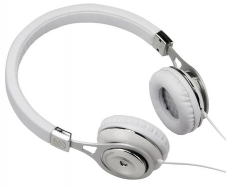 Scosche RH600 Series On-ear Reference Headphones white