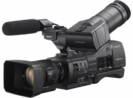 Sony NXCAM NEX-EA50EH Affordable Interchangeable Lens Camcorder