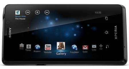 Sony Xperia T Flagship Smartphone with 4.6-inch Display and 13Mpix camera landscape