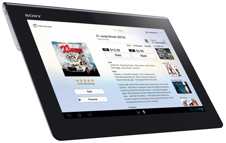 Sony Xperia Tablet S with Tegra 3 sony video unlimited