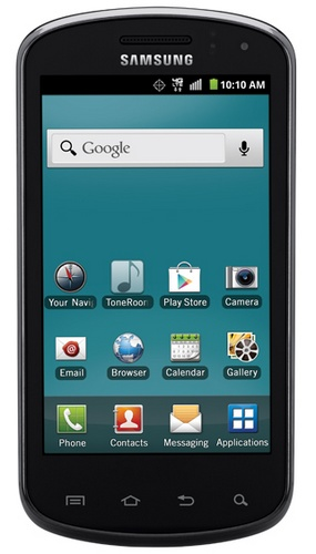 U.S. Cellular Samsung Galaxy Metrix 4G QWERTY Smartphone front