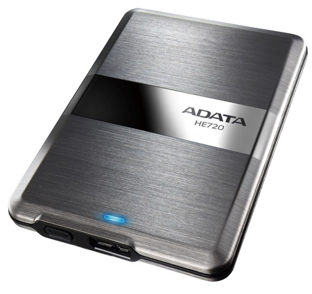 ADATA DashDrive Elite HE720 is the World's Thinnest External Hard Drive