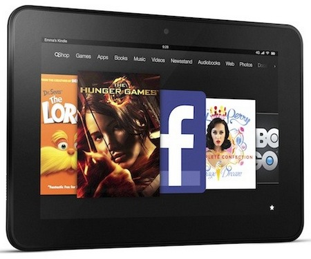 Amazon Kindle Fire HD 7-inch with 720p Display and Dual-band WiFi