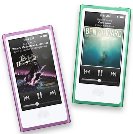 Apple iPod nano 7th gen with 2 5-inch Multitouch Display | iTech