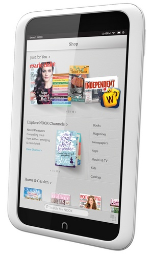 Barnes & Noble NOOK HD Highest Resolution 7-inch Tablet snow