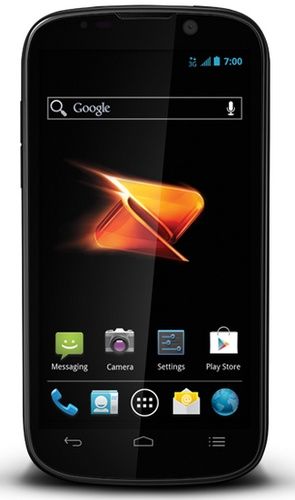 Boost Mobile ZTE Warp Sequent Entry-level Android 4.0 Smartphone