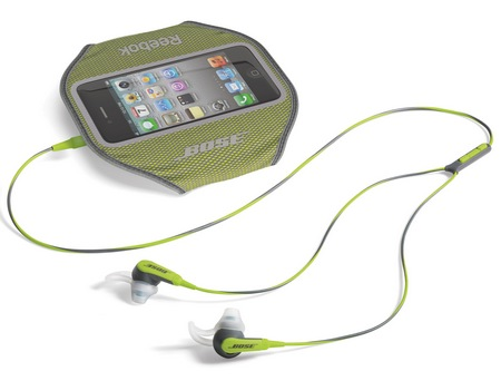 Bose SIE2i sport Headphones green with armband