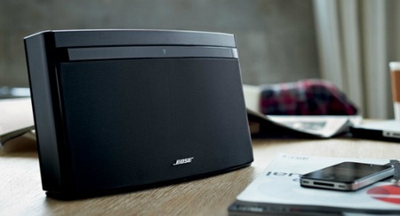 Bose SoundLink Air Wireless Music System in use