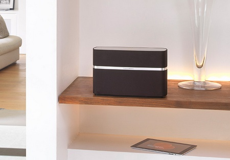 Bowers & Wilkins A5 AirPlay Wireless Music System in use