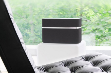 Bowers & Wilkins A7 AirPlay Wireless Music System in use