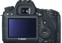 Canon EOS 6D Mid-range Full-frame DSLR Camera with WiFi and GPS back