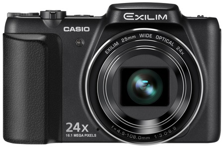 Casio EXILIM EX-H50 24x Zoom Camera black