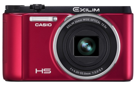 Casio EXILIM EX-ZR1000 High-speed Digital Camera red