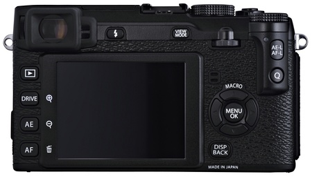 FujiFilm X-E1 Interchangeable Lens Digital Camera back