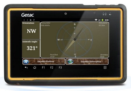 Getac Z710 7-inch Rugged Android Tablet GPS