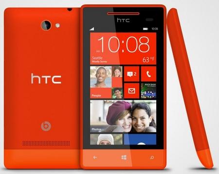 HTC 8S Mid-range Windows Phone 8 Smartphone Fiesta Red