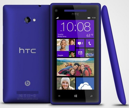 HTC 8X Windows Phone 8 Smartphone blue