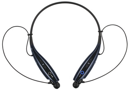 LG TONE+ HBS-730 Bluetooth Headset supports VoLTE blue black 1