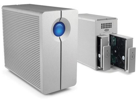 LaCie 2big Quadra USB 3.0 multi-bay RAID storage system 1